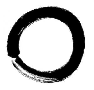 Símbolo Zen para vacío