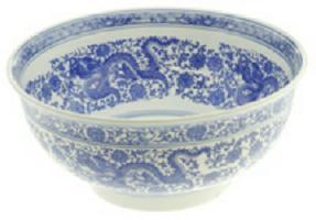 Vasos de porcelana chino
