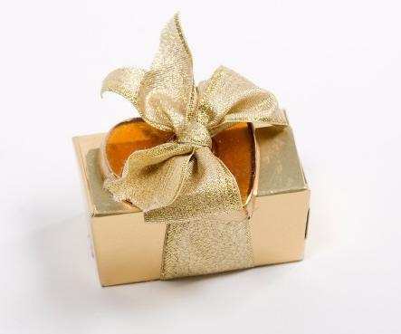 Caja dorada
