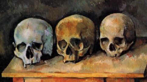 Tres cráneos