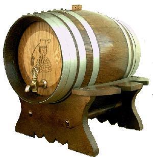 Rat n borracho - Barril de vino ...