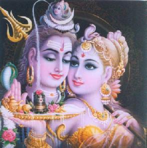 Parvati y Shiva