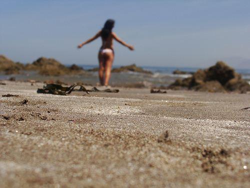 Mujer horizonte